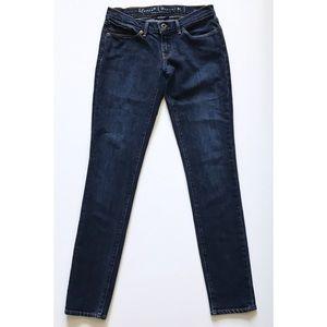 Levi's Capital E Jeans Skimmer Sz 27 Low Skinny
